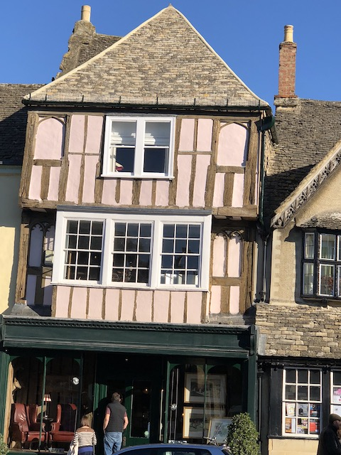 Burford listed building restoration